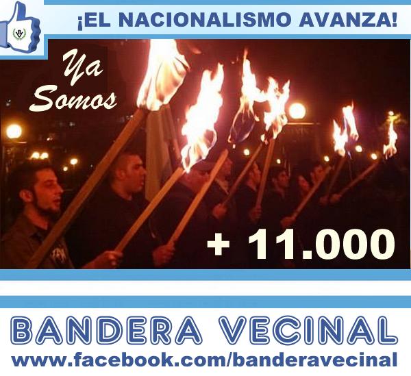 Bandera Vecinal superó los 11 mil seguidores en Facebook