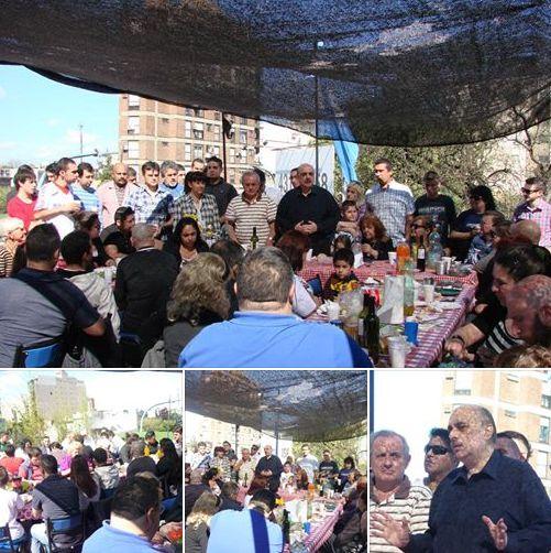 Primavera: Almuerzo de Camaradería de Bandera Vecinal