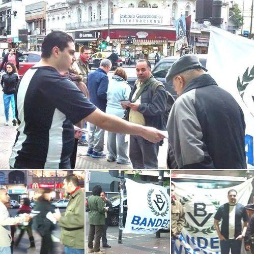Comuna 12: Bandera Vecinal en Villa Urquiza