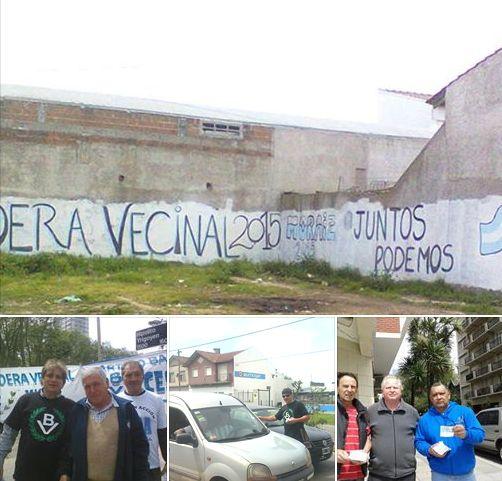 Se intensifica la campa�a de Bandera Vecinal en Mar del Plata