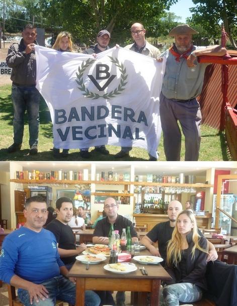 Reunión de dirigentes de Bandera Vecinal en Saladillo