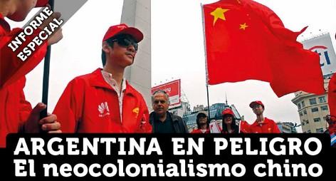El neocolonialismo chino: Argentina en peligro