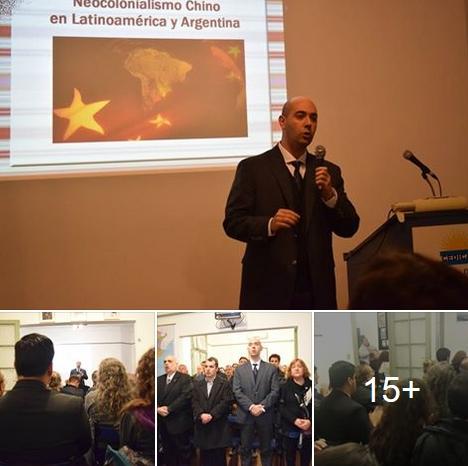 Esclarecedora disertación del Dr. Biondini (h) sobre el neocolonialismo chino en Latinoamérica y Argentina