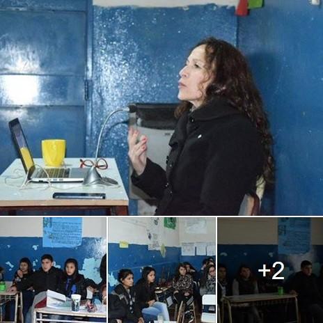 Lic. Ana Graziano habl� sobre el flagelo de las drogas ante estudiantes secundarios de Mor�n