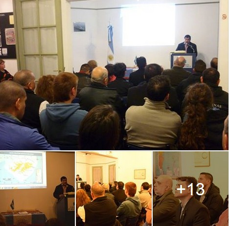 Memorable conferencia del VGM Carlos Montiel en Casa Patria