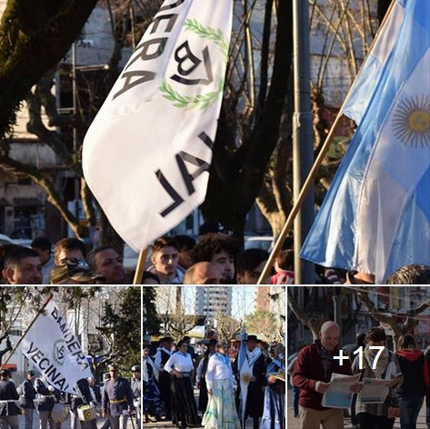 Bandera Vecinal participó de la celebración del 204° aniversario del Éxodo Jujeño en San Miguel