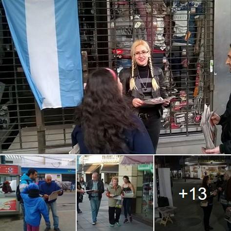 Amplio despliegue Nacionalista en Mataderos, Caballito y Moreno