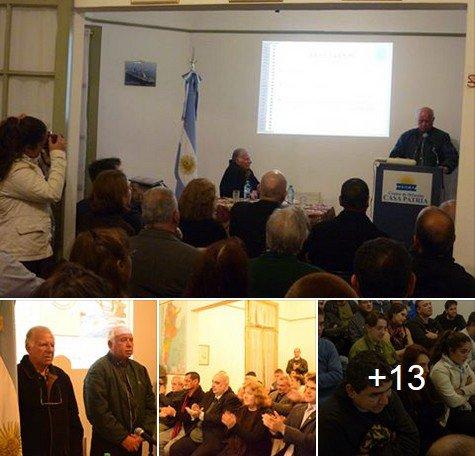 Casa Patria: VGM Ullúa habló sobre las comunicaciones en la Guerra de Malvinas