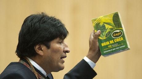 Evo Morales, el abanderado de la hoja de coca. Su carrera política recibió apoyo económico de George Soros.