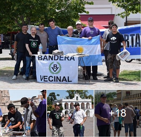 Bandera Vecinal Luján se puso en marcha con un amplio operativo