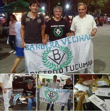 Bandera Vecinal Tucumán continúa sumando voluntades
