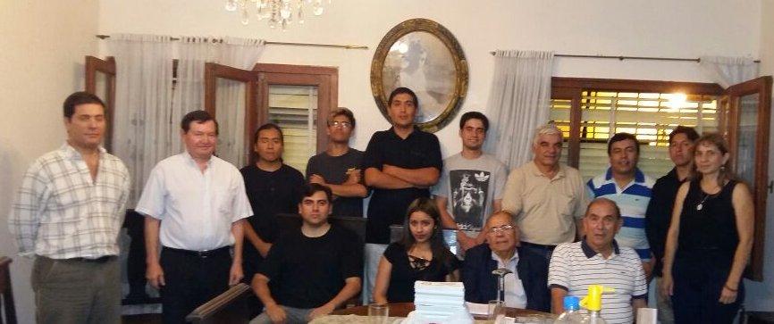 Encuentro en el Círculo Nacionalista de Salta