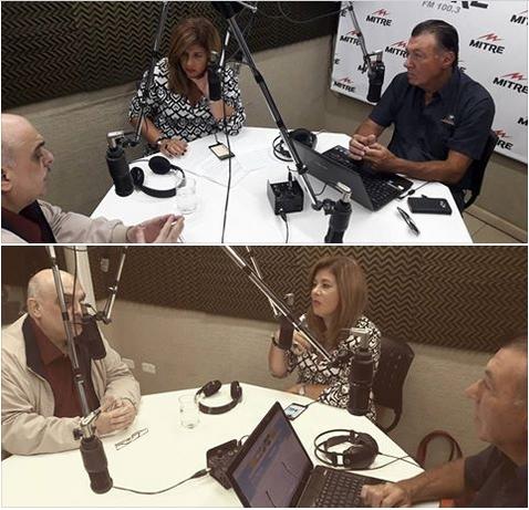 Entrevista a Biondini en Radio Mitre Bahía Blanca sobre su candidatura a Diputado Nacional