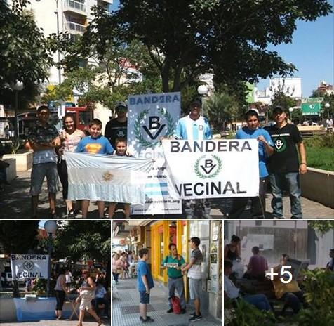 Sábado de propaganda en la Plaza de Morón (ver fotos)