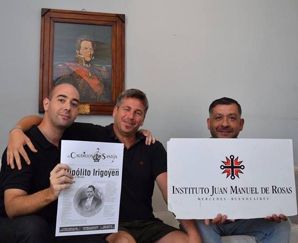 (De izq a der): Alejandro César Biondini, Juan Manuel Bories Maxwell, Daniel Conde.