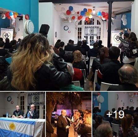 Ver Fotos de 1a. Asamblea Nacionalista: Bandera Vecinal se hace fuerte en La Plata