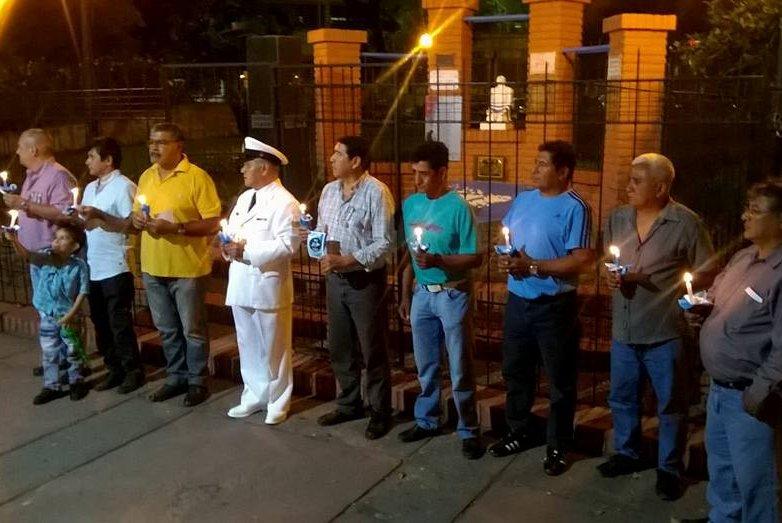 Jujuy: VGM Juan Domingo Frías encabezó Vigilia de Veteranos de Guerra