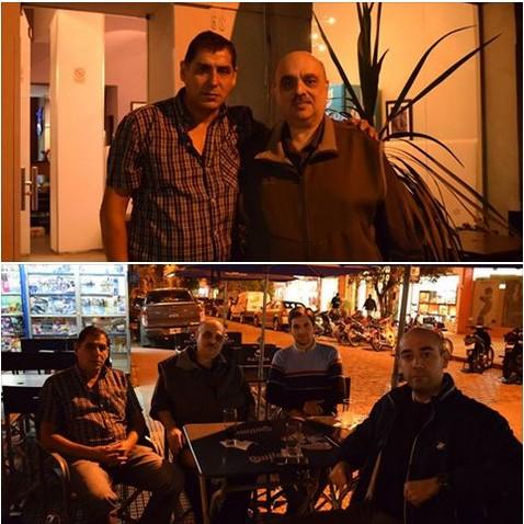 Biondini se reunió con el Héroe de Malvinas y Ciudadano Ilustre de Junín, VGM Sergio Bustamante