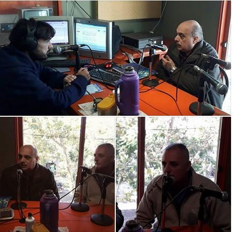 Ver fotos: Alejandro Biondini y Ramón Buzzo entrevistados en Radio del Centro FM 91.9 de Chivilcoy