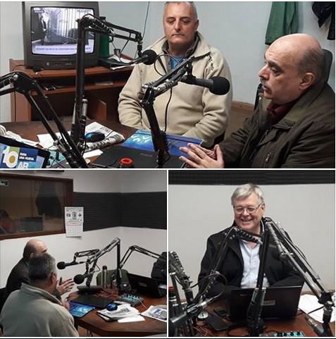 Ver fotos: Biondini en LT32 Radio Chivilcoy