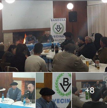 Asamblea Nacionalista con trabajadores rurales en General Pinto