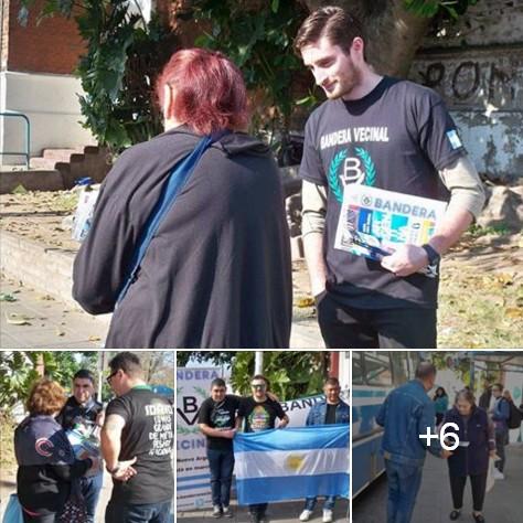 El Frente Patriota Bandera Vecinal en Villa Bosch