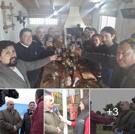 Biondini visitó el Partido de la Costa y este viernes llega a Mar del Plata
