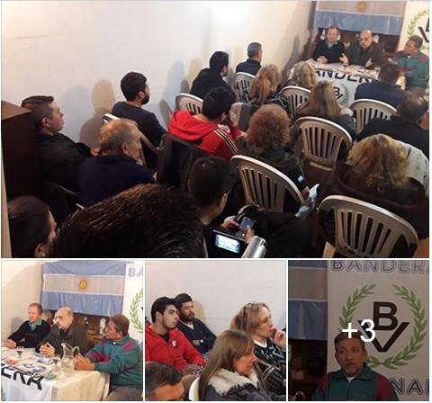 Asamblea Nacionalista en Lomas de Zamora: El Frente Patriota avanza