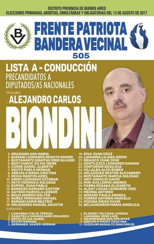 Biondini-DiputadoNacional-Boleta-PASO2017