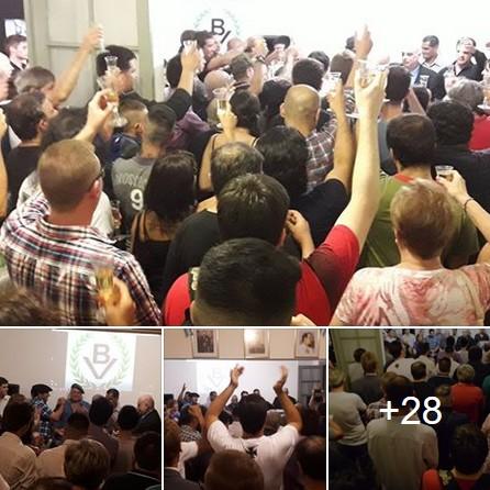 Brindis de Fin de Año: Extraordinaria fiesta de unidad y camaradería en Casa Patria