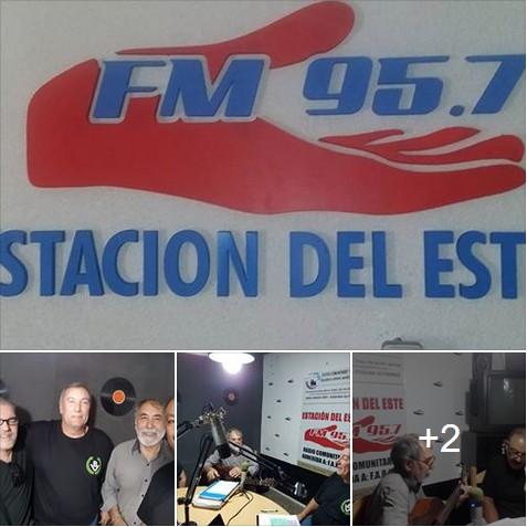 BV Santa Fe por radio y convocando a movilización patriota