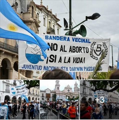 BV Salta contra el aborto y por los Derechos de los Niños por Nacer