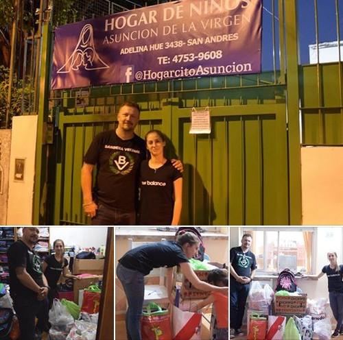 El Nacionalismo Cumple: Entrega de útiles al Hogar de Niños Asunción de la Virgen