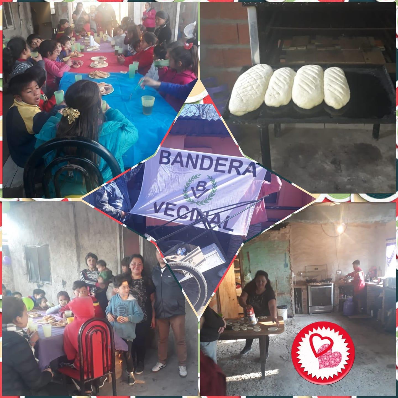 "Abrió el comedor infantil ""Los Peques"", auspiciado por Bandera Vecinal Berazategui"