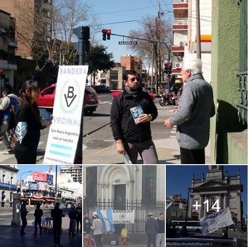 Mesas de difusión de BV en Moreno, Flores, Tres de Febrero y Parque Chacabuco