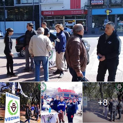 Domingo de militancia nacionalista en Parque Patricios