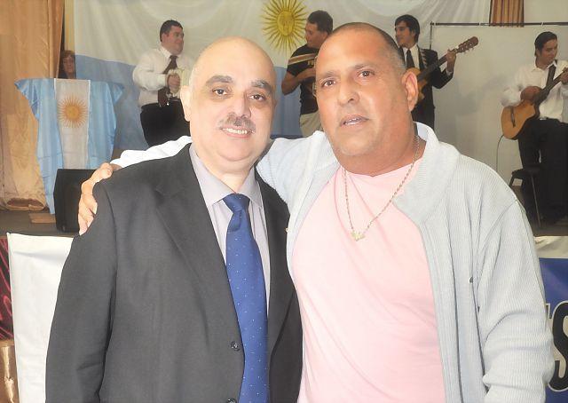 Nuestro Líder Kalki junto a Fantini