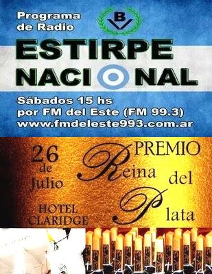 """""""Estirpe Nacional"""" fue nominado a los Premios Reina del Plata"""