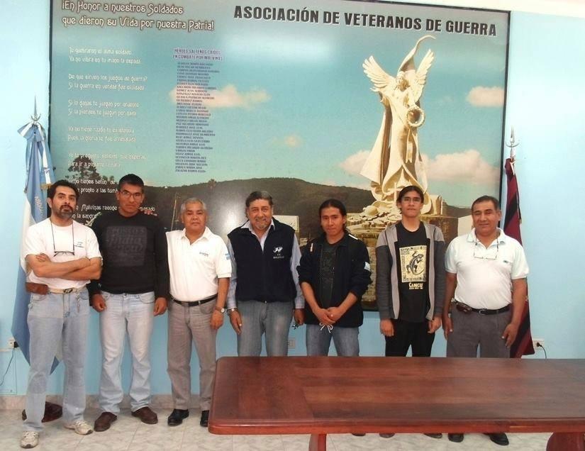 Delegación de La Passaponti Salta estuvo junto al VGM Juan Domingo Frías en la Asociación de Veteranos de Guerra de la provincia