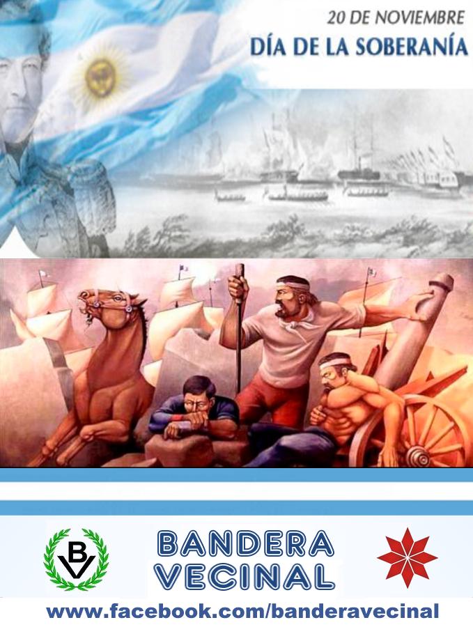 20 de noviembre - Día de la Soberanía Nacional